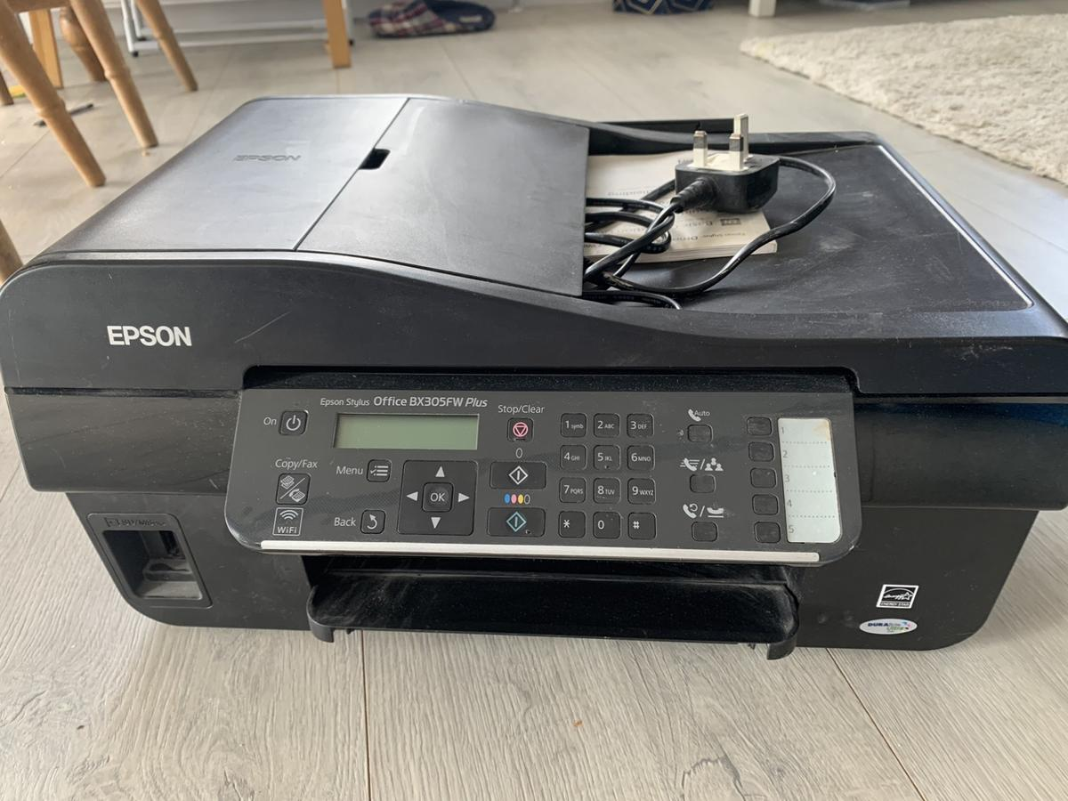 In perfect condition, just needs new inks, perfect for a small office