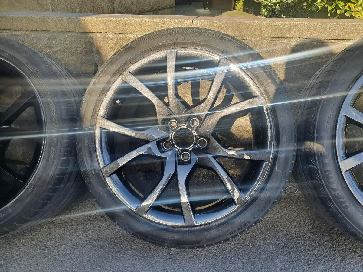 Genuine 18 Audi A5 Speedline Alloys Tyres In Bb9 Pendle For 449 00 For Sale Shpock