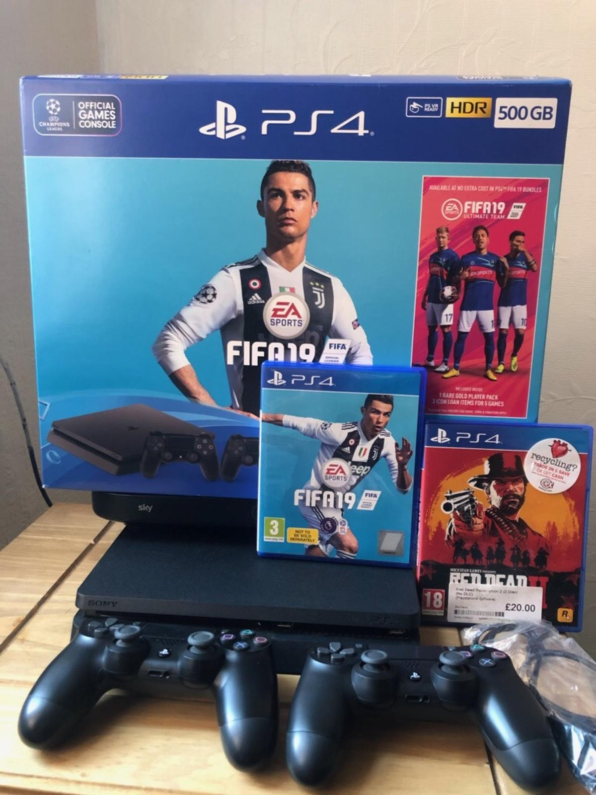 Boxed Mint condition 6 months old 2 x games 2 x controllers 1 x 5m hdmi cable Local delivery possible