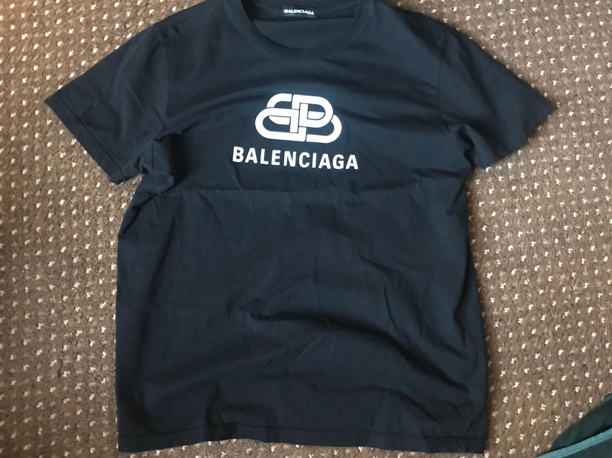 Men's Balenciaga t shirt, size large, excellent condition, collect from Bury or Paypal and I will post.