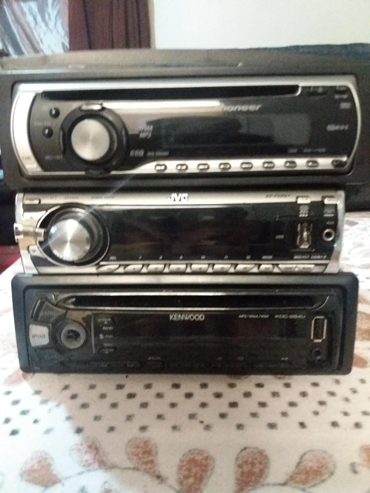 job lot £40 ONO  X3 CAR CD PLAYER.  1X PIONEER CD PLAYER 1X JVC CD PLAYER/AUX/USB 1X KENWOOD CD PLAYER/AUX/USB  Can deliver for fuel if not too far  MAY CONSIDER SWAP FOR PHONE & HOME DVD PLAYER  NO TIME WASTERS PLEASE  OPEN TO OFFERS