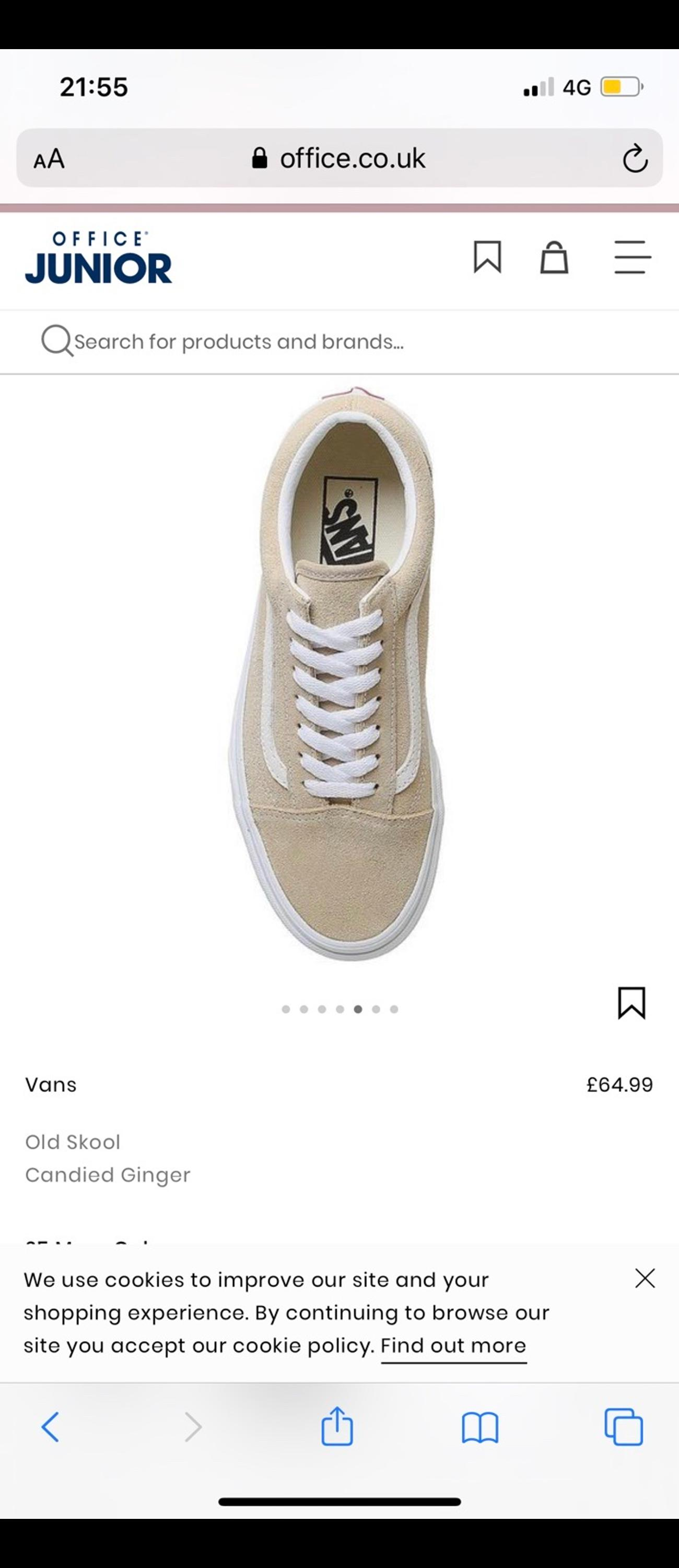 Brand new women's trainers with tags size 6 collection or post thank you