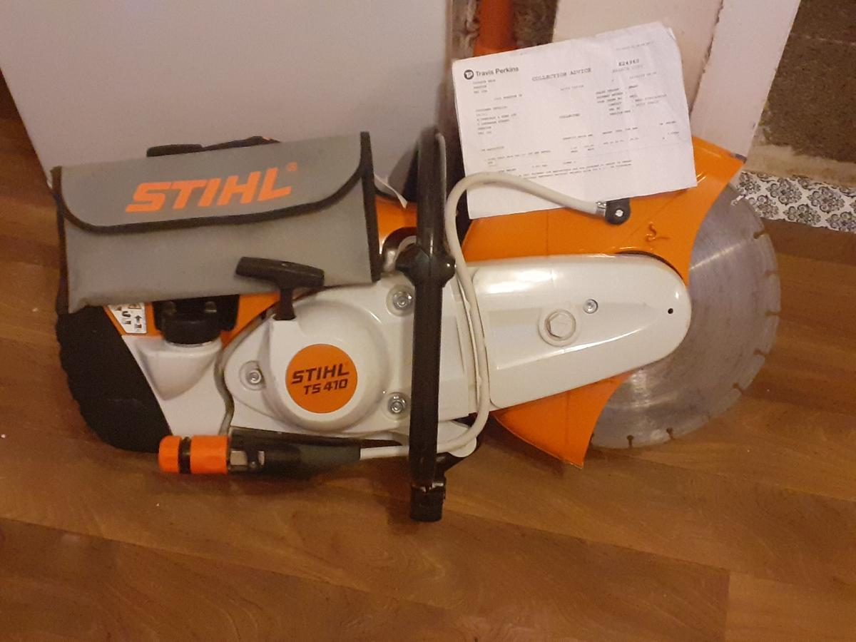 """Brand new Sthil TS 410 (12"""") petrol cut off saw for sale!! Only been used twice since it was taken out of its box & still with original 1st tank of fuel!! Pictures speak for there self's so no need for a description,  Any inspection welcome 👍 Collection Only"""