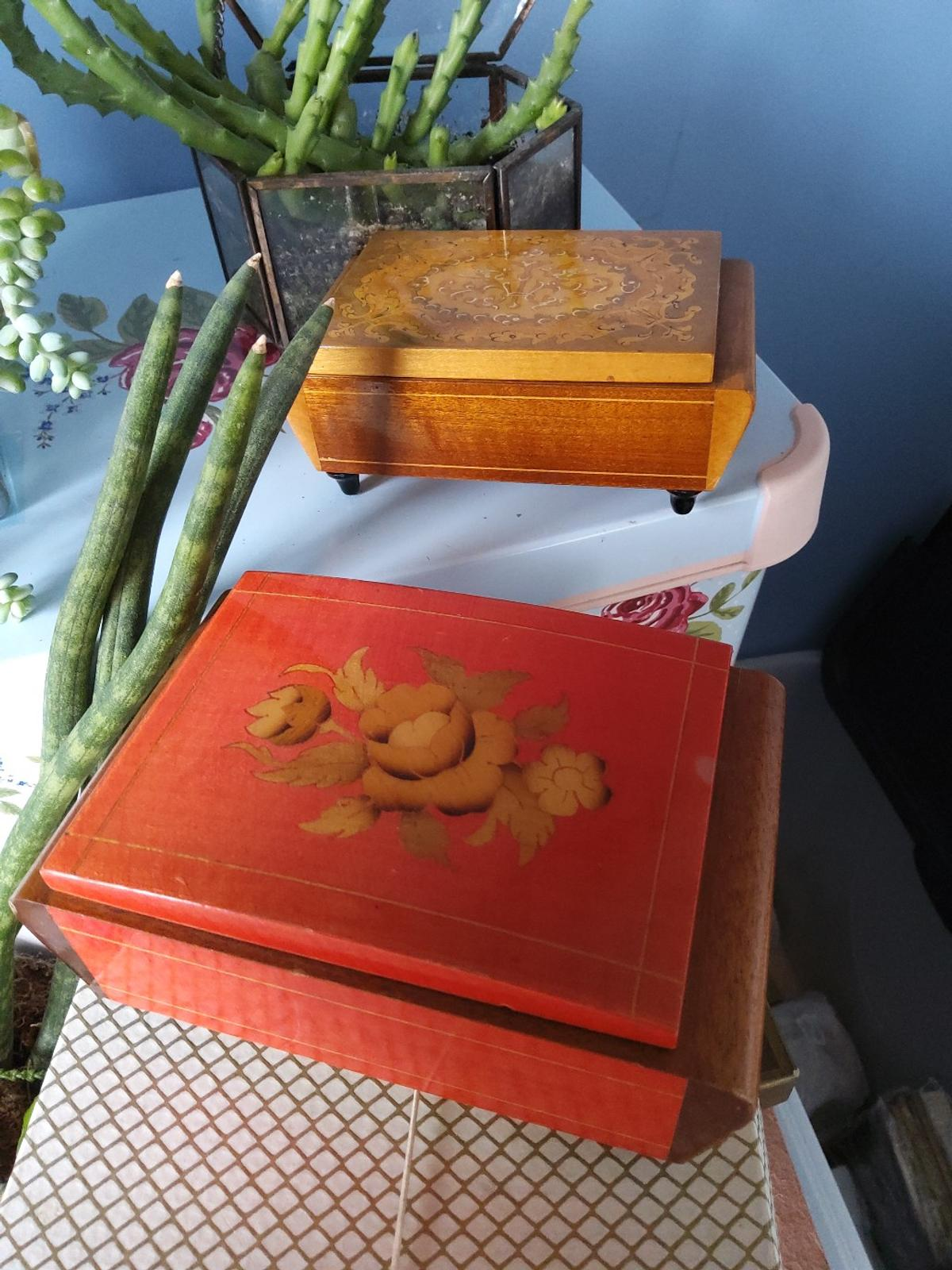 Two Vintage Boxes in great condition. collection from sidcup Da15.