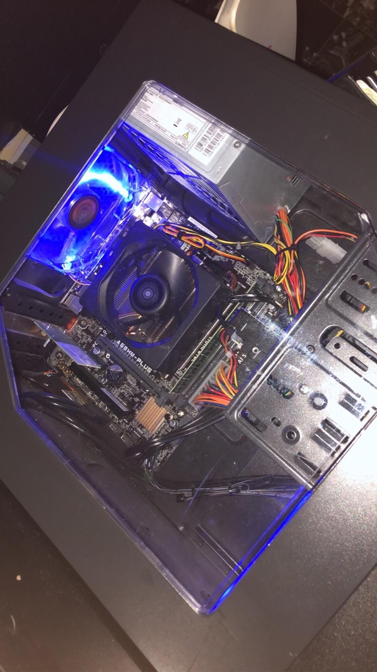 Gaming PC, keyboard, mouse, monitor All work perfectly Collection only need gone!