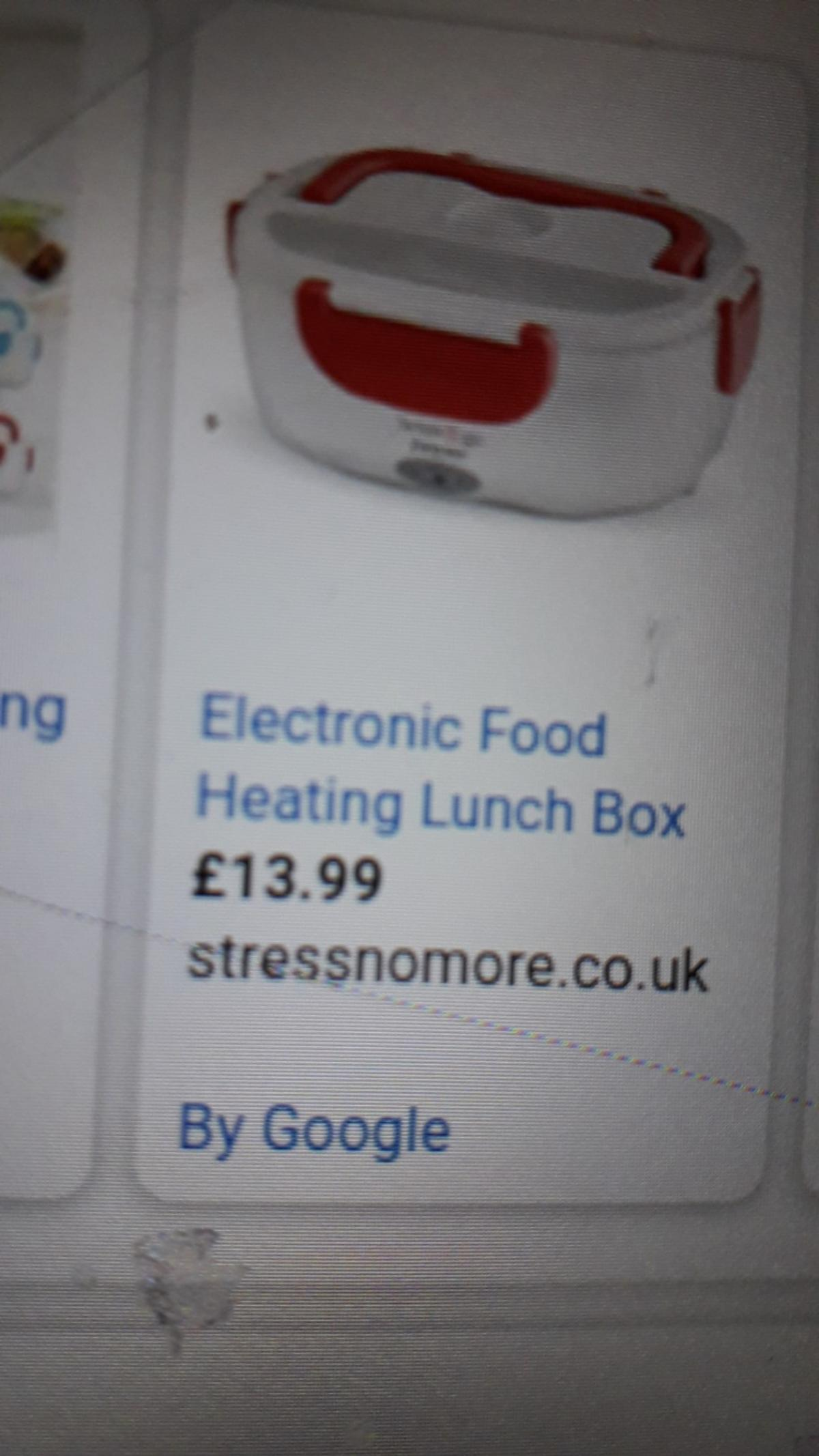 the electric lunch box new