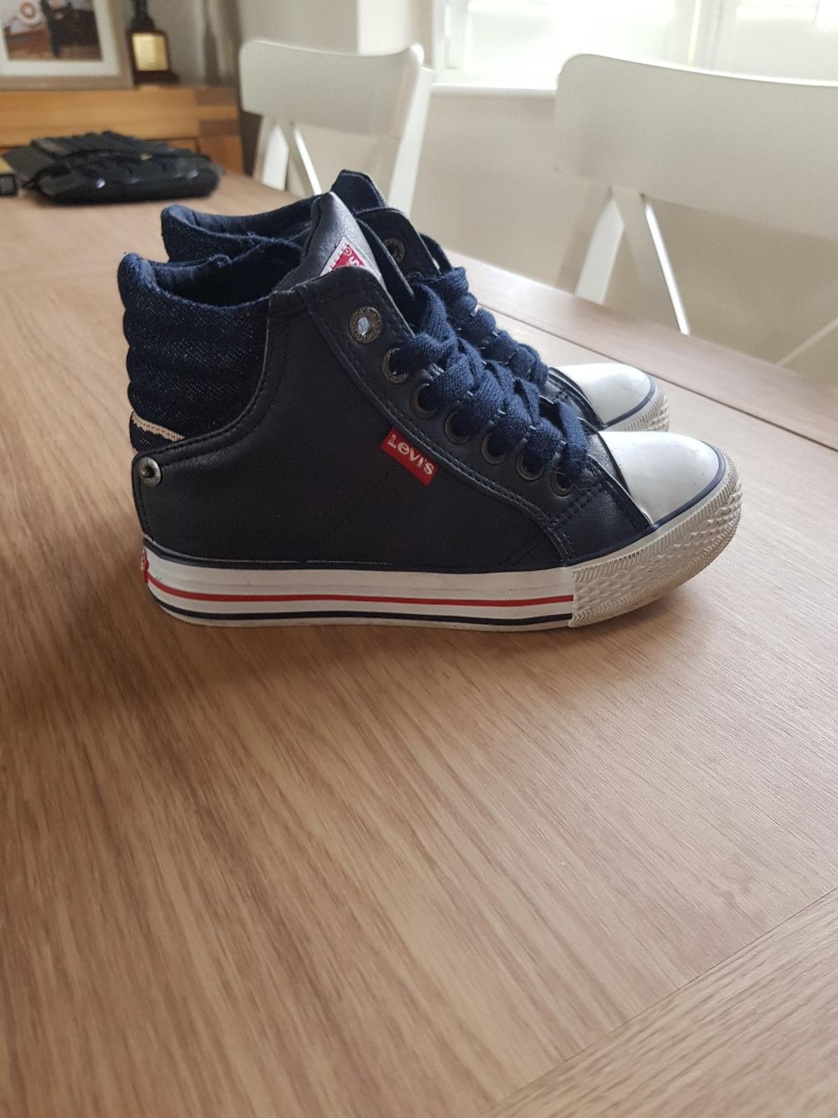 size 13.5 definitely fit a 13  These look really smart on hardly worn, too small for my boy now