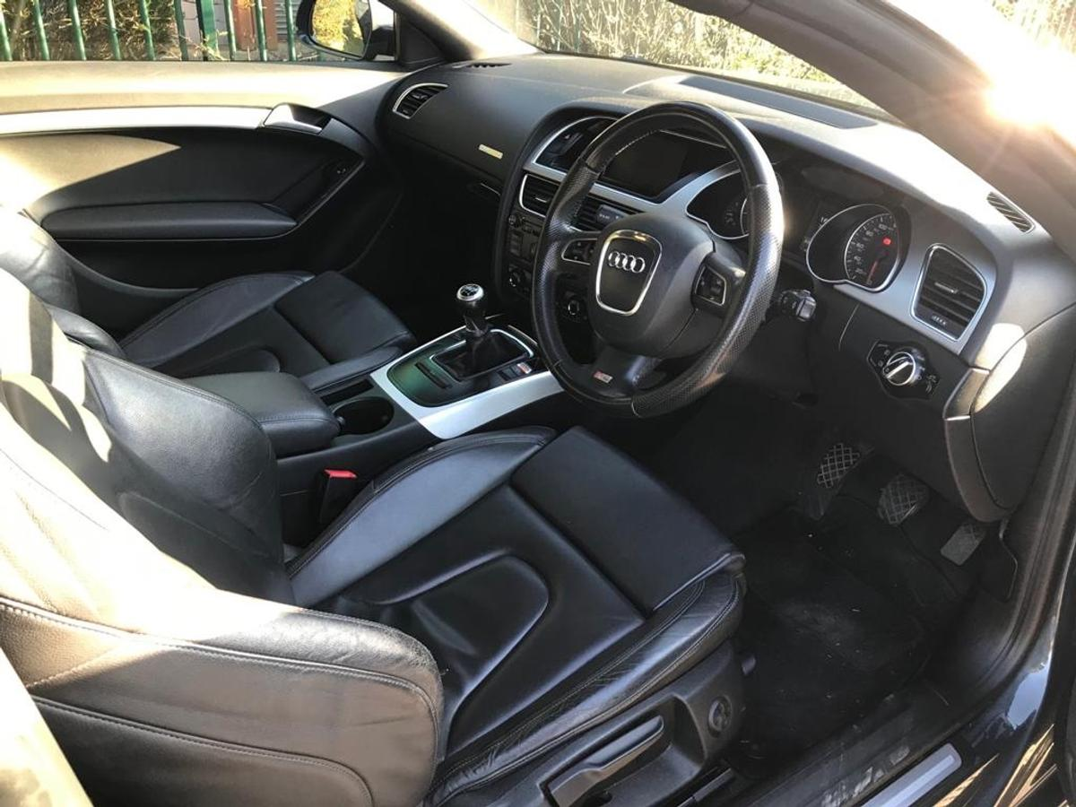 """Audi 2.0 litre TFSI 80,000 miles 280BHP RS5 19"""" alloy wheels RS Front grill Stage 1 Tuned Also lowered front end 7 services 4 previous owners Car drives amazing"""