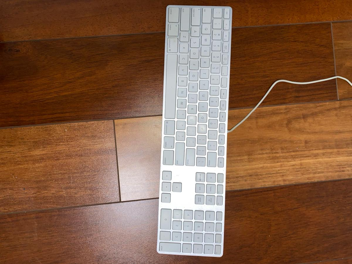 Keyboard is 130 new and Apple mouse is old it is 30 but I'm selling the keyboard for $85and mouse 15