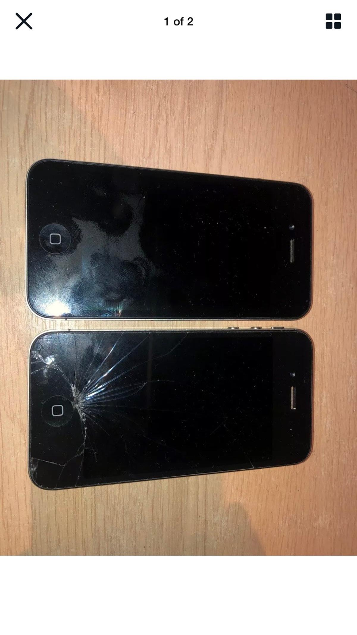 2 x iPhone 4 both fones sold not working