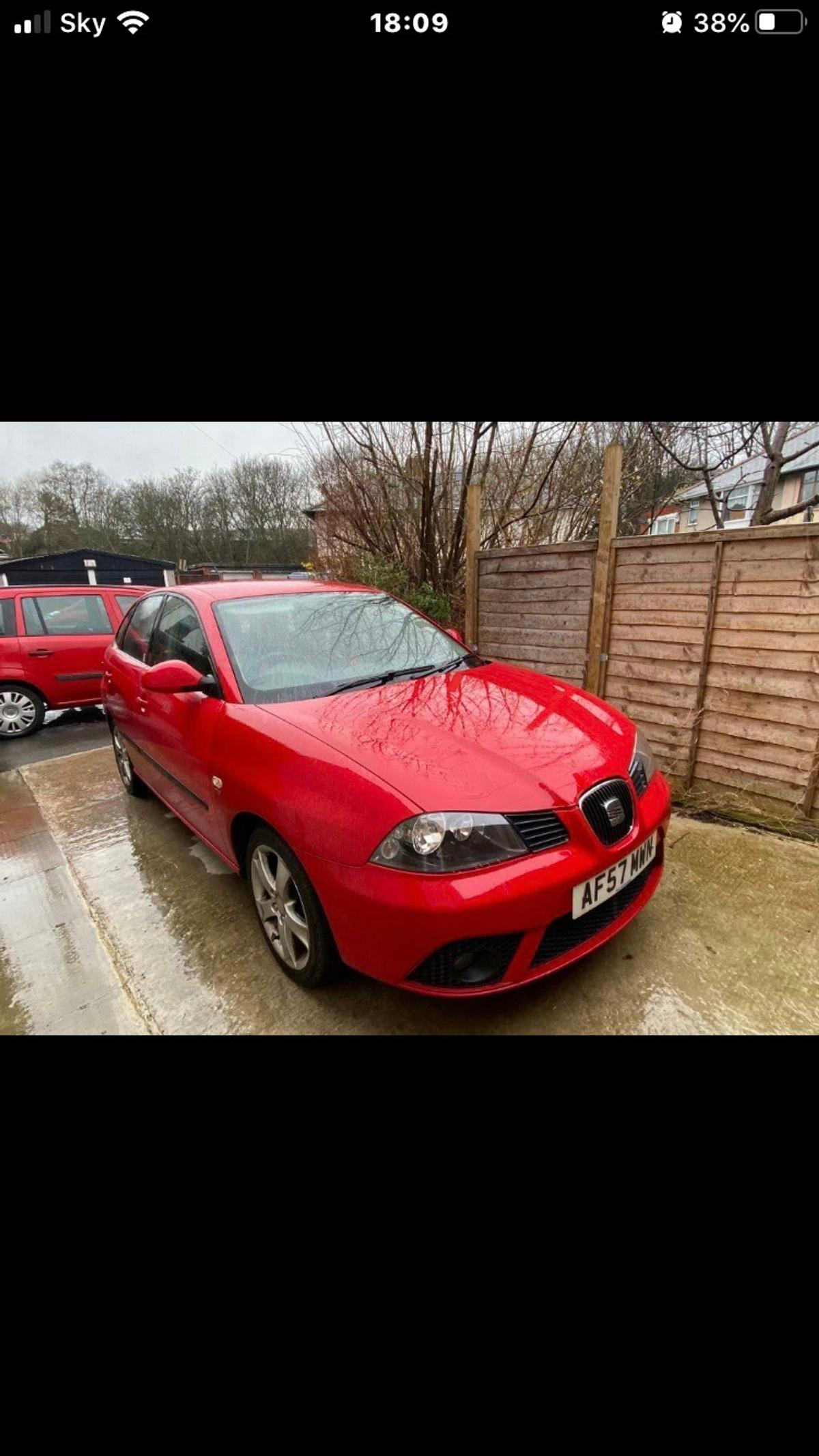 57 plate seat Ibiza 1.9d 2007 1.9 seat Ibiza sport tdi, done 150,00 miles, only 3 previous owners, few age related marks, NEEDS A EGR VALVE, been quoted £110 for repair, still drives well, only selling due to new car, MOT till June, cheap to insure, ideal first car for someone. £695 ono, 2 Owners