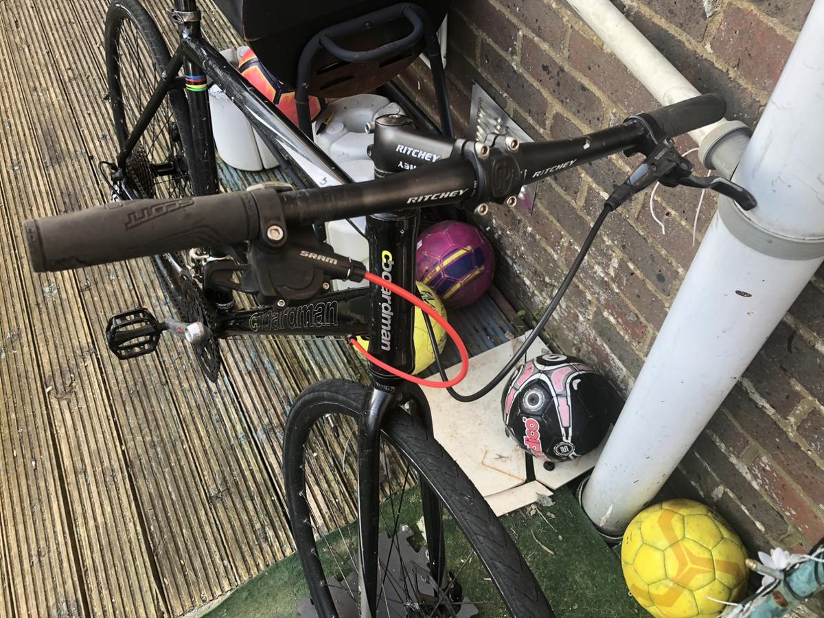 Lovely bike in used condition just need front gear shifter and front brake  Price on add NO LESS