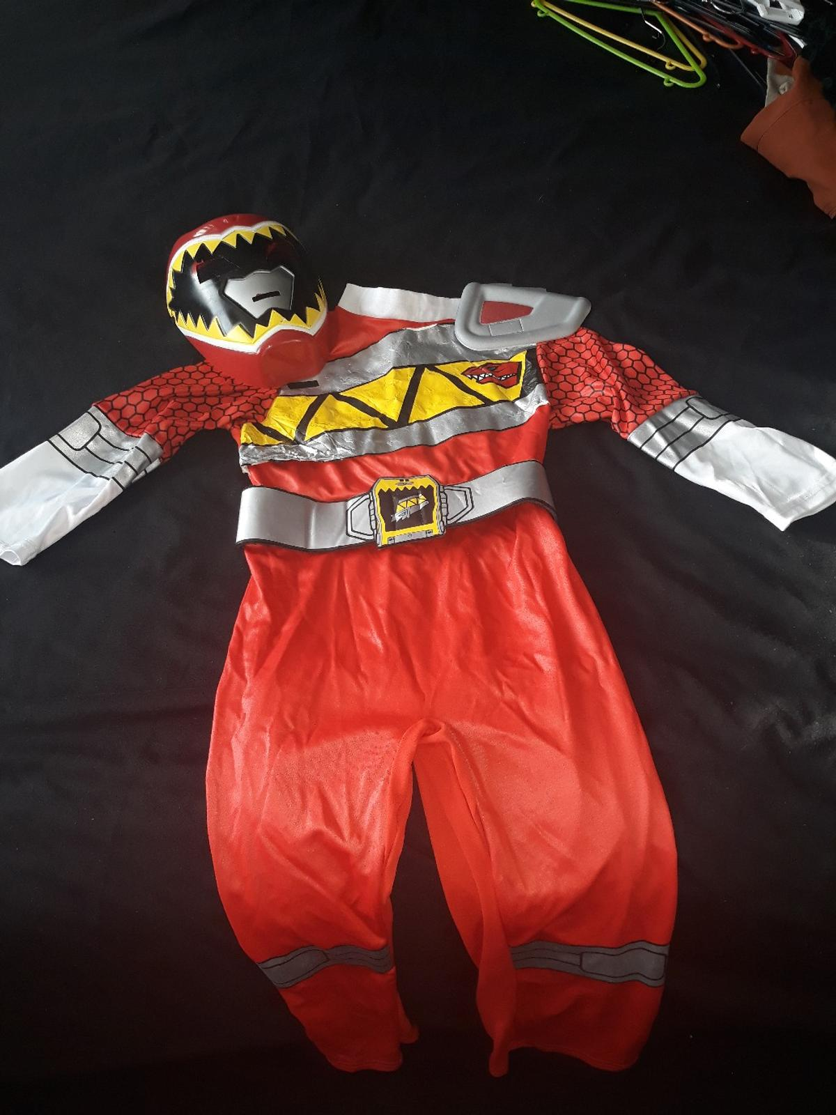 Power ranger dress up age 5 just needs iron of the front