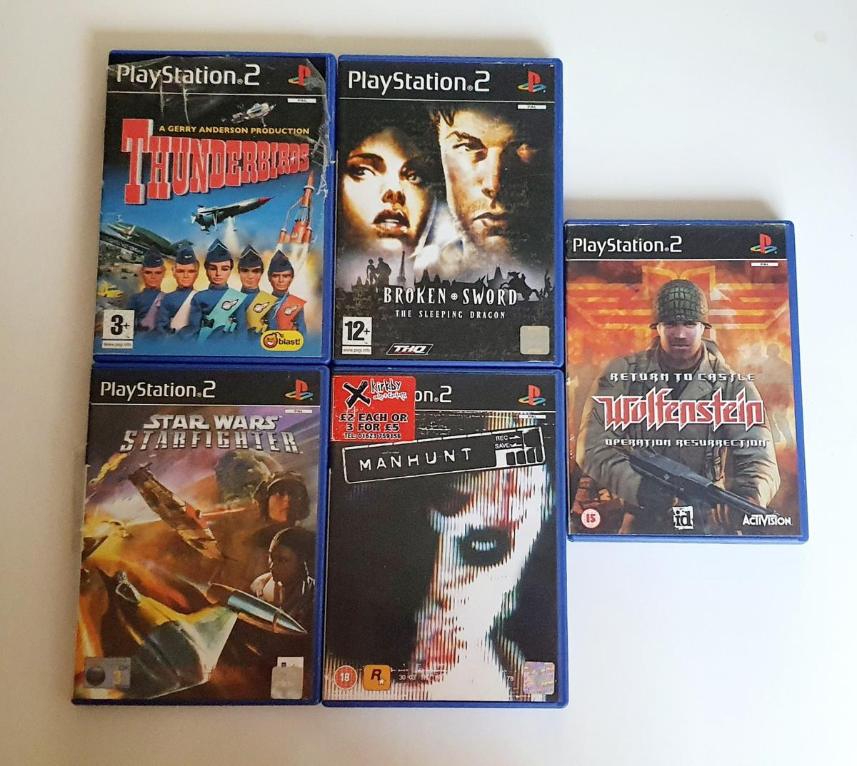 Assorted ps2 games. Lots of playstation 2 games. Note I am selling them separately. Pm me if You need any. I can send You proof of test before selling. In very good condition. 2 for 6£