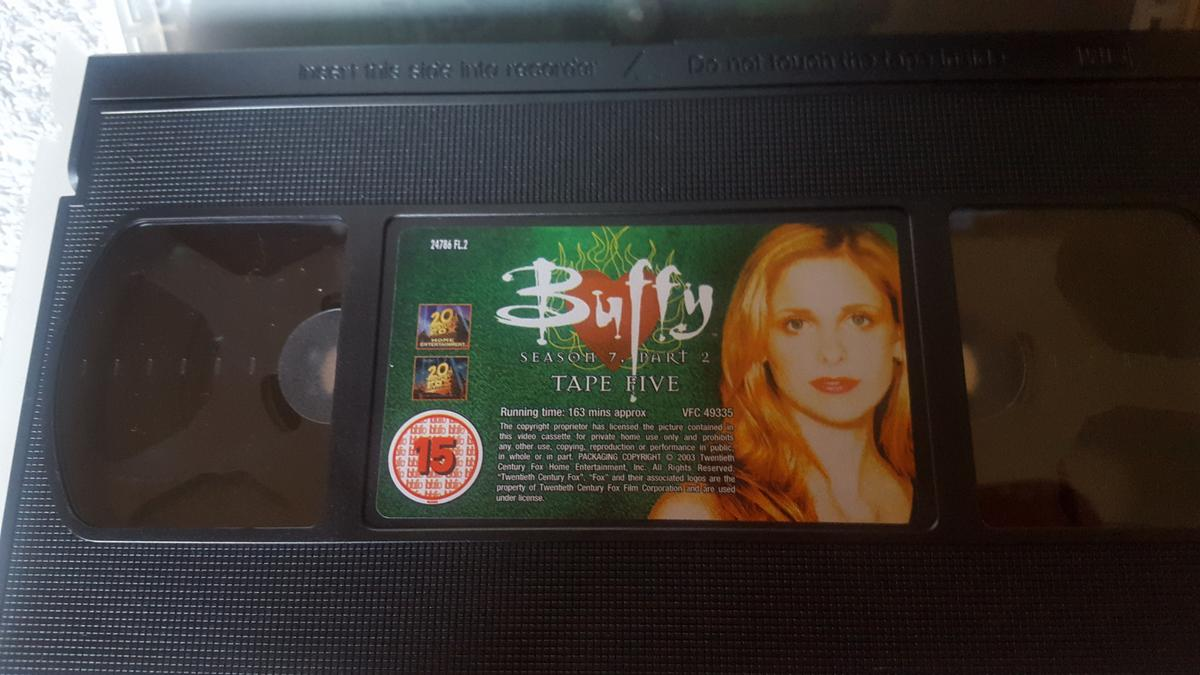 Buffy The Vampire Slayer - season 7, part 1 - episodes 1 through to 11. Total running time; approximately 448 minutes.