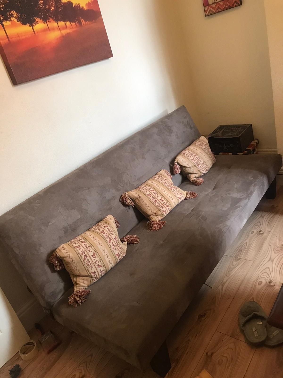 Sofa bed , hardly used only bought it for my partner's son who stays every other weekend. Only been used about 10 times at the most .