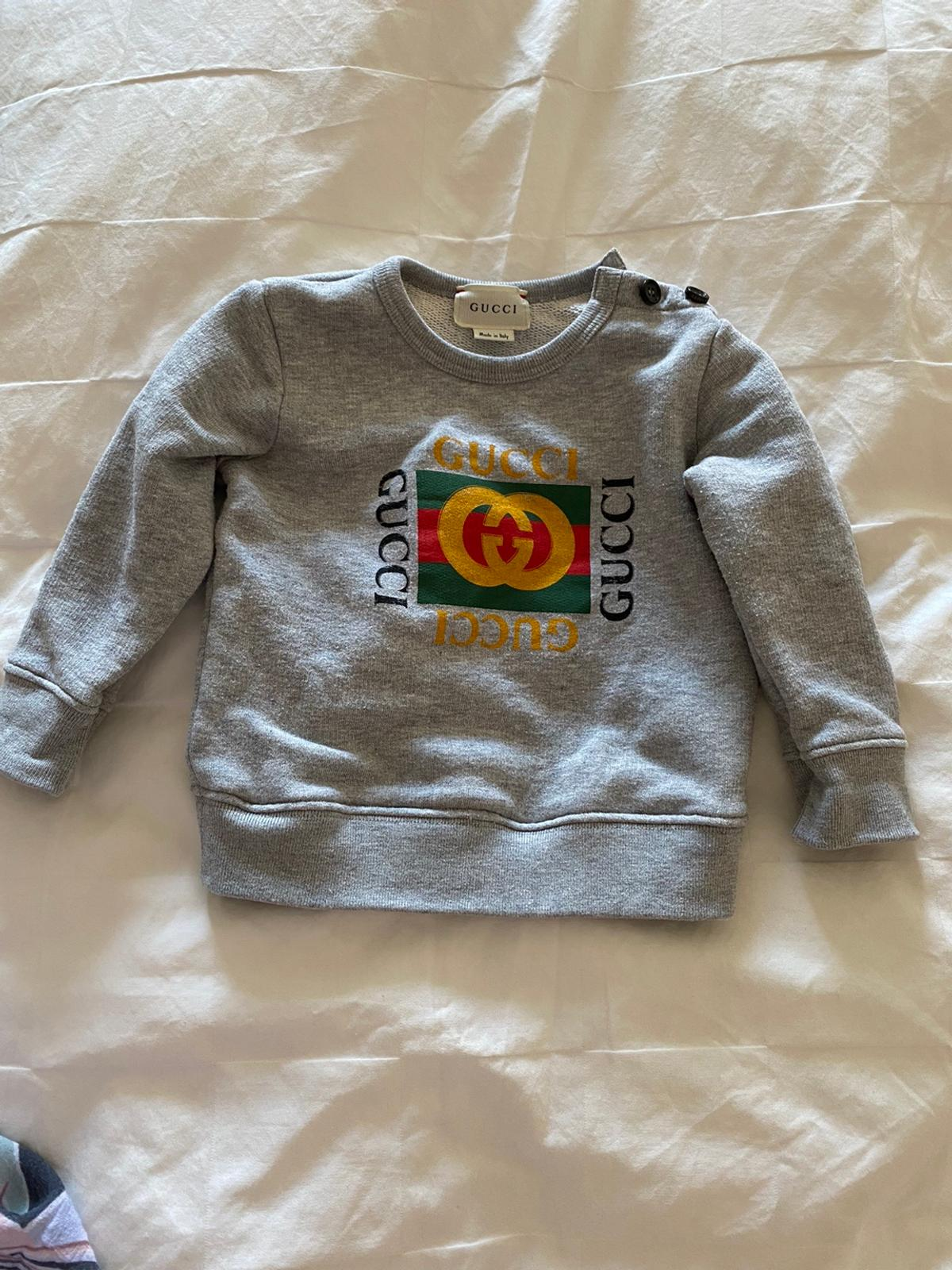 Authentic baby Gucci jumper size 9-12months. Only worn twice.