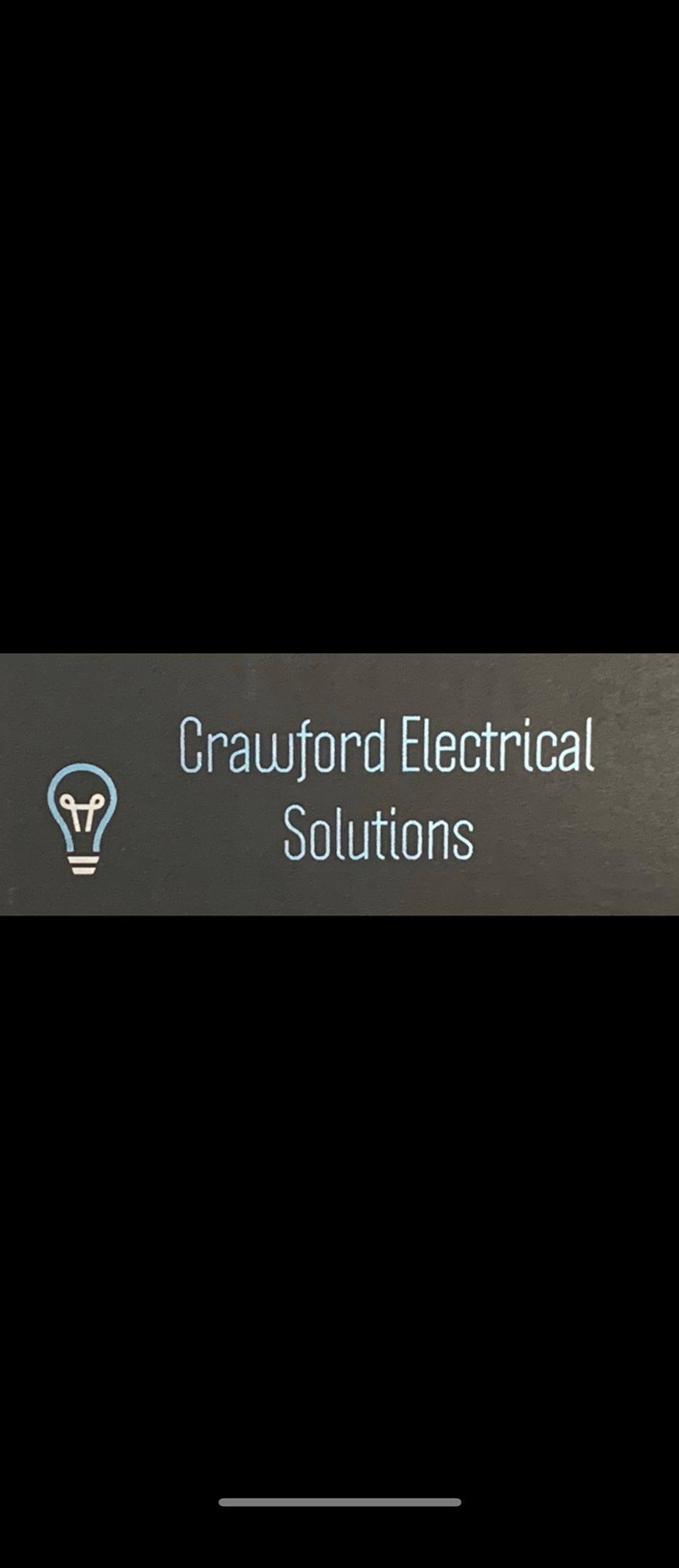 At crawford electrical solutions all of our engineers are fully qualified and experienced electricians. We undertake minor and major jobs for all your electrical needs; From lights to rewires, additions and alterations at competitive prices. We cover domestic, commercial and Industrial jobs. Contact us for a free quote!  07580011302