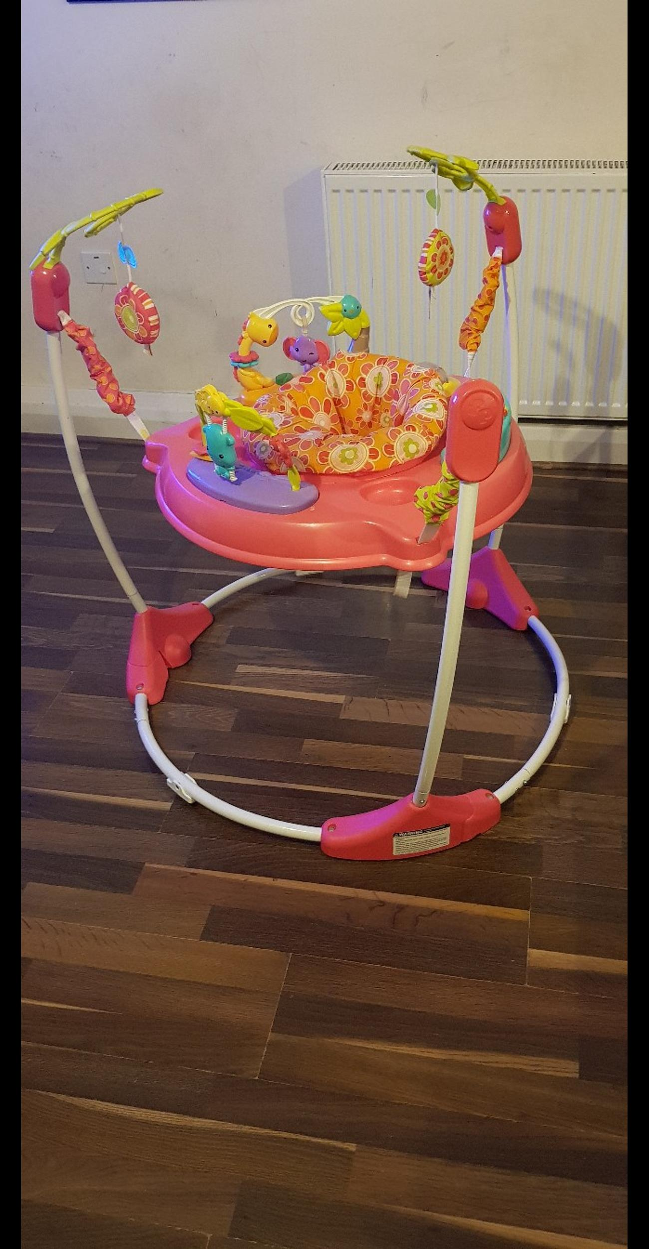 Fisher price jumperoo great condition pet and smoke free home collection only thankyou