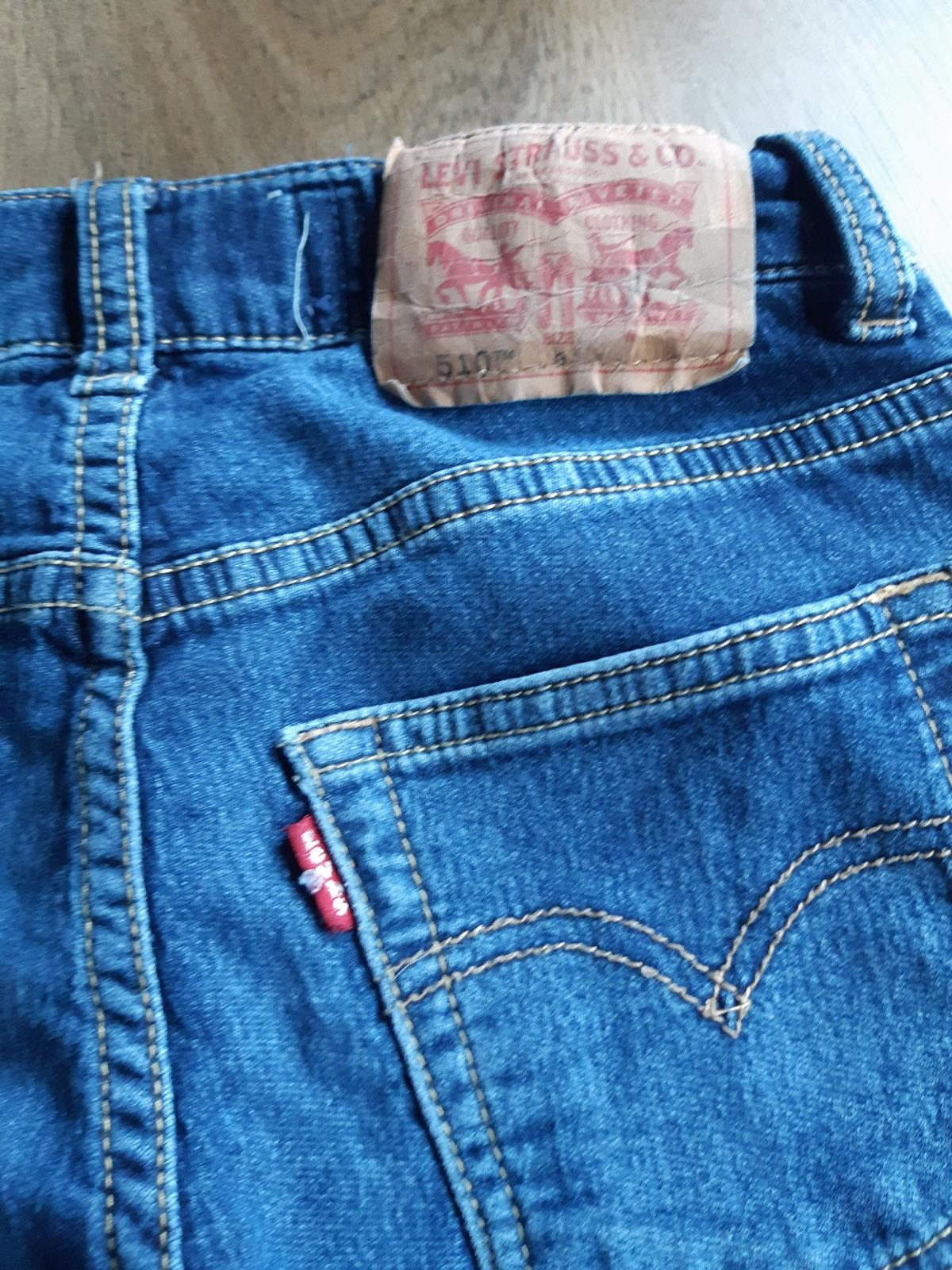 girls Levi's skinny Jean's age 8 years in good clean condition sorry no offers postage available