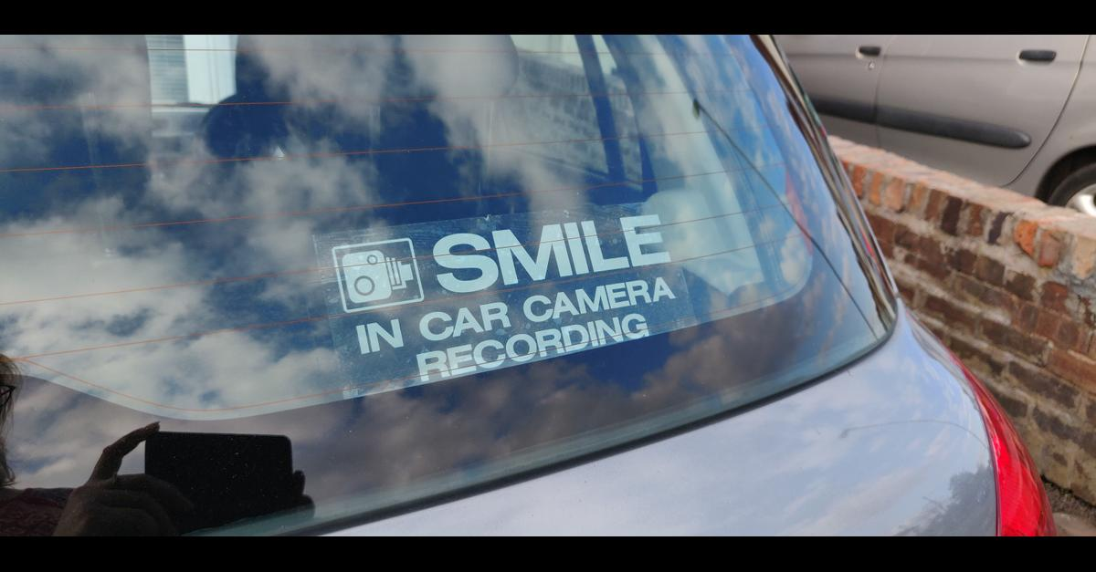 NEW Dash Cam Car Stickers - 8 available - £1.50 each Collection from Amington, Tamworth