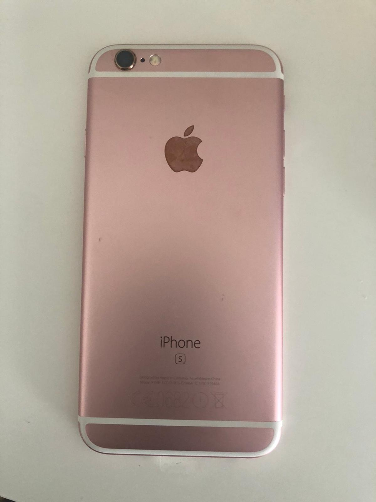 Hi here I have for sale iPhone 6s 64GB unlocked new CONDITION well look after fully working oder grate shape see pitchers for more details any question fell free to contact me thanks for looking. NO POSTAGE AVAILABLE plz don't ask PayPal payment or to post to anywhere this item is only for collections.