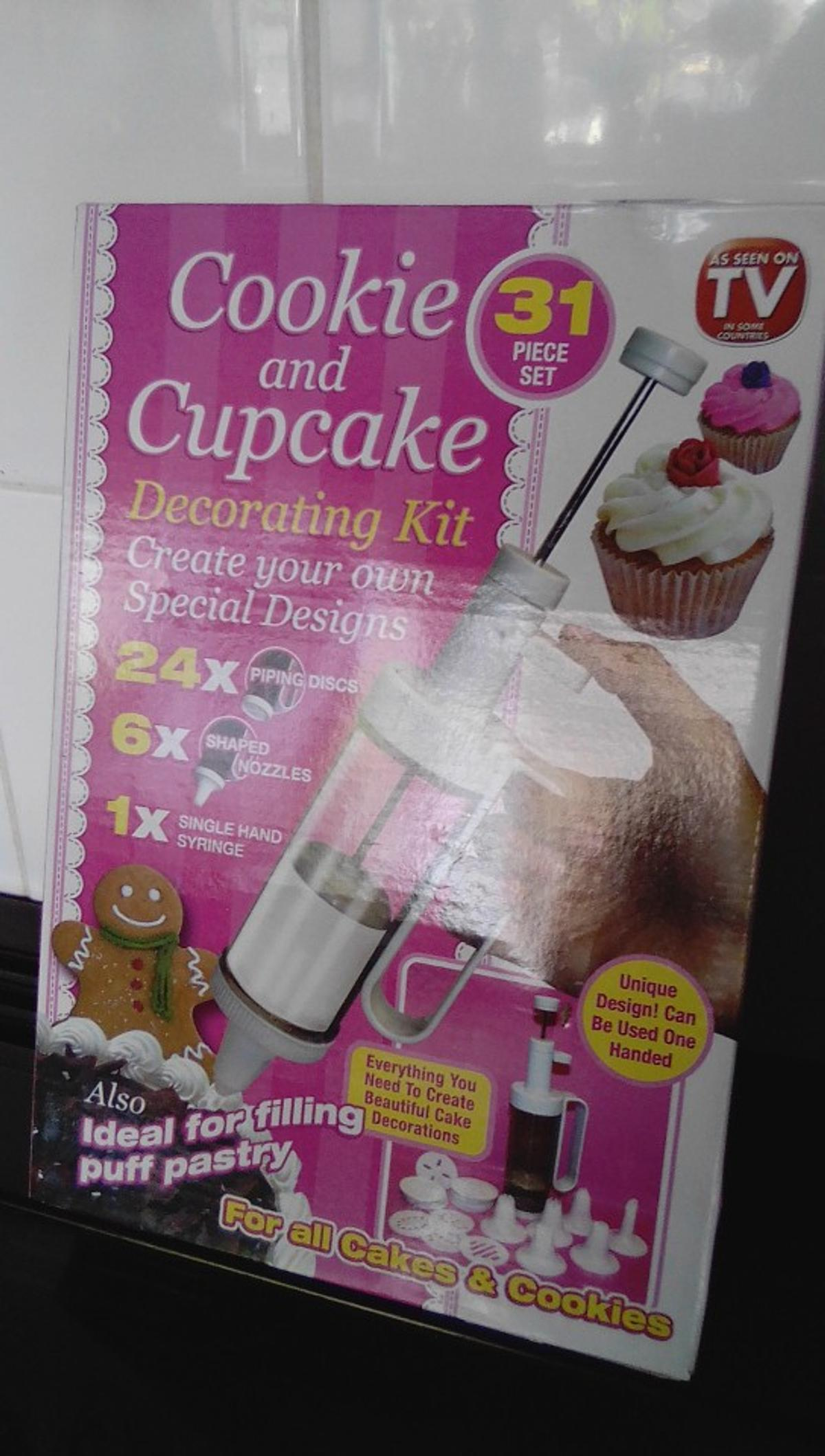 cookie & cake decorating kit brand new in box collection wv1
