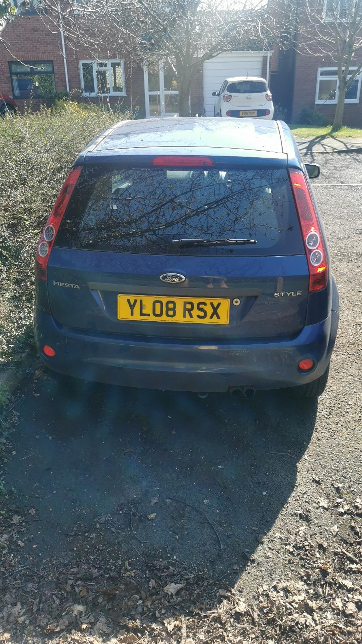 For Sale  Ford Fiesta 2008 3 owners from new Ideal first car or cheap run about. Only selling as daughter used to build up no claims and now brought new car. Dash cam fitted Bluetooth kit fitted Aux 3.5 jack point fitted 111000 miles below for age MOT 27/07/2020 Recent new master cylinder 4 new tyres New battery New radiator and pipe work 2 keys  £700