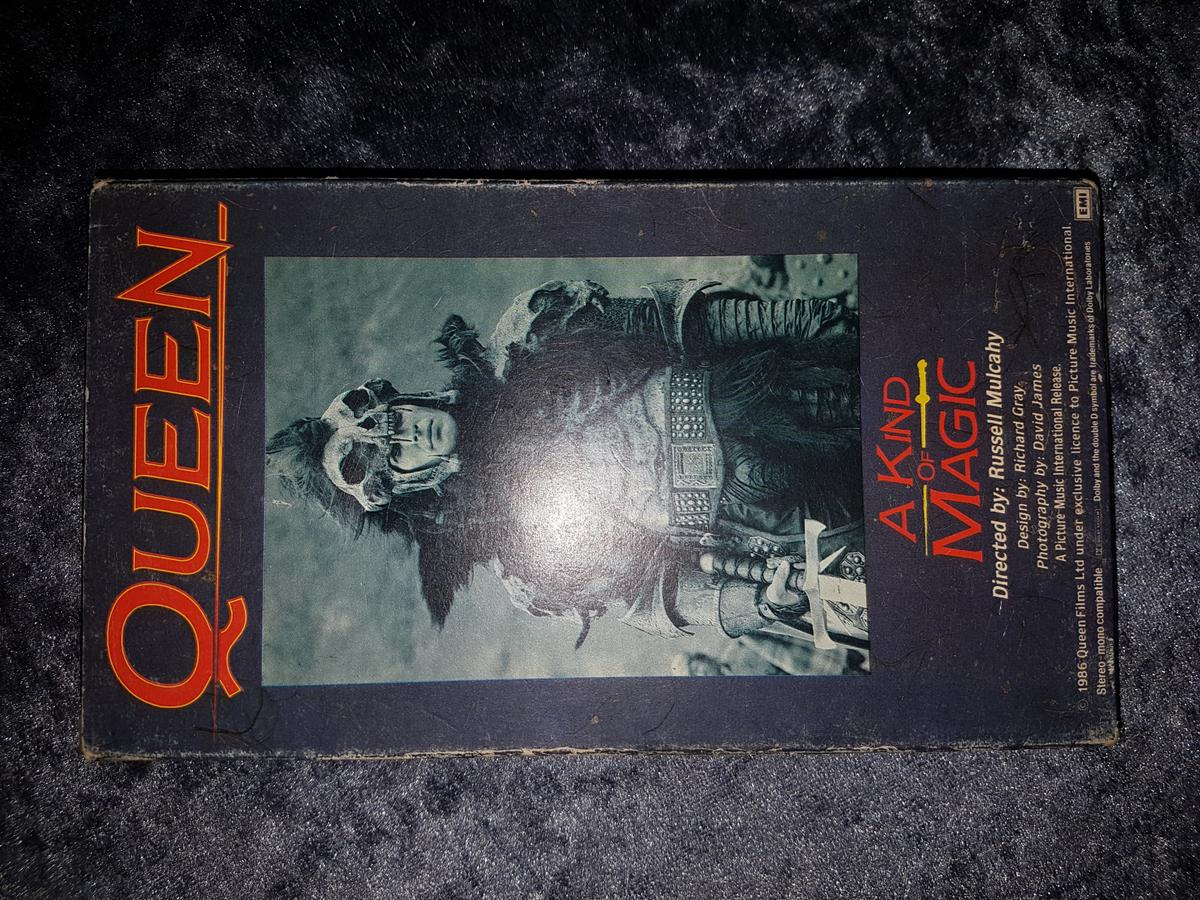 Queen VHS Video (Kind Of Magic & Who Wants To Live Forever) - Can Post Or Deliver For Extra
