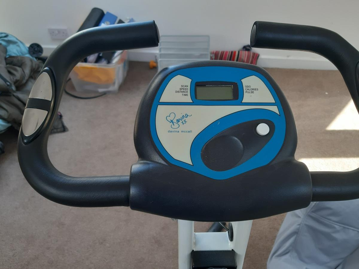 Davina Mcall exercise bike in good nick