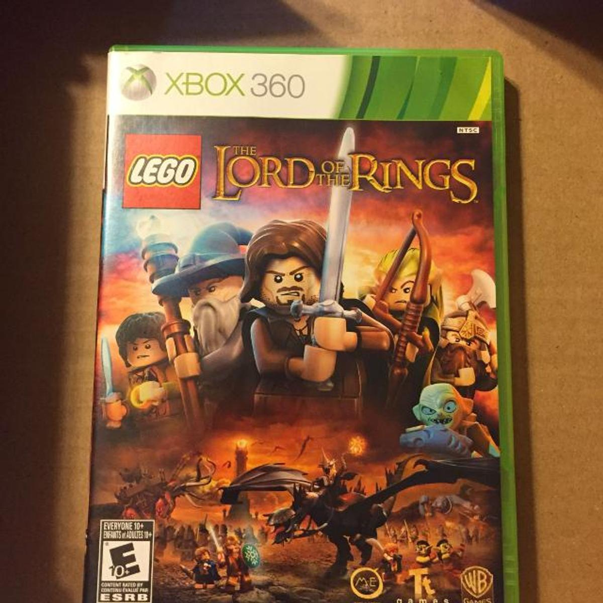 Lego lord of the rings/ xbox360 game /the disc looks fresh condition  Lord of the rings Lego game on xbox 360 The game is like new not one mark on the disc  100% working  £7 pound cash Come and collect or I can post it's all up to you