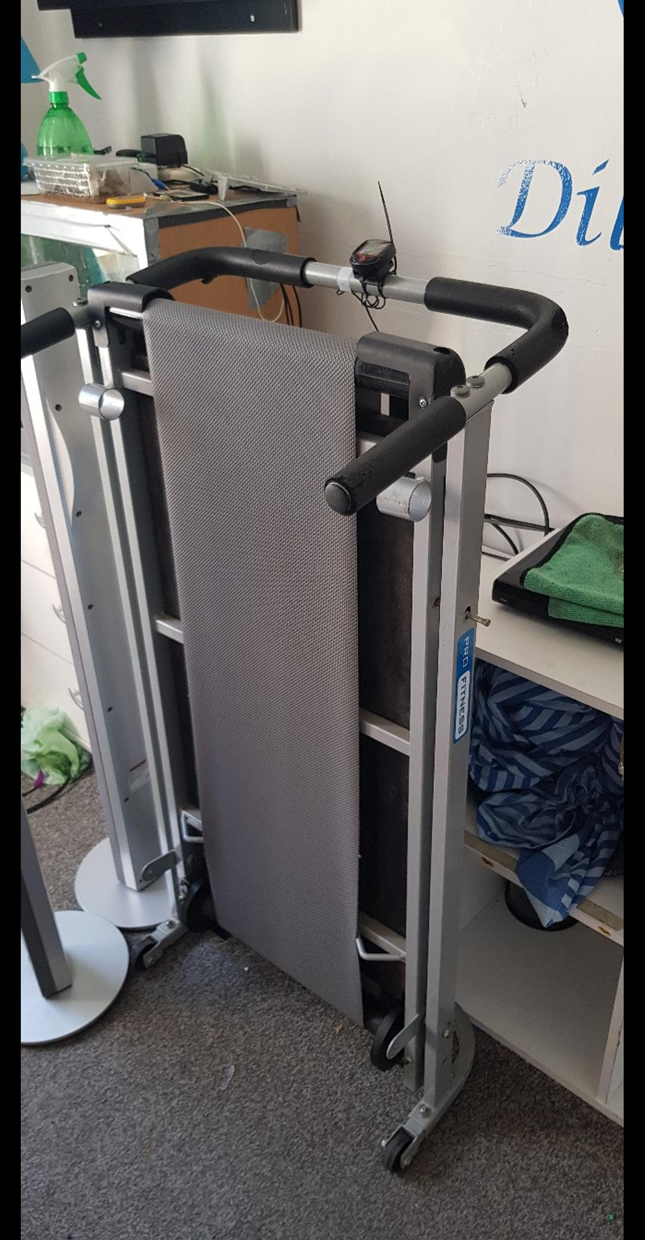 electronic walker +free manual treadmill collection only