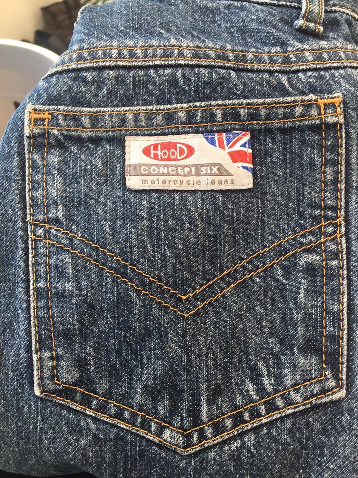 Used but in good condition. Ladies size 8 motorcycle Jeans.