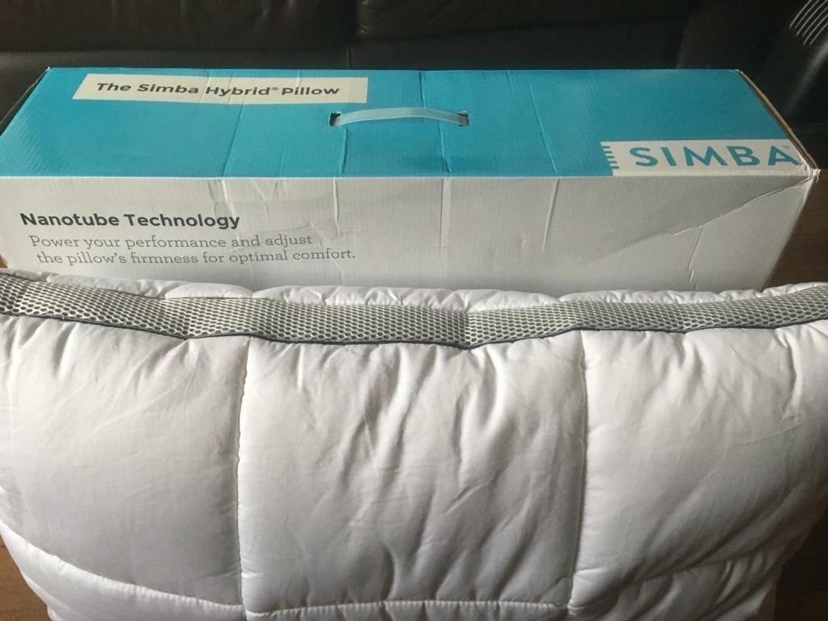 Brand new Simba bedding items for sale, still in packaging  2 X Simba Hybrid pillows PRP 95.00 each in John Lewis  Pillows £50 each or 2 for £100