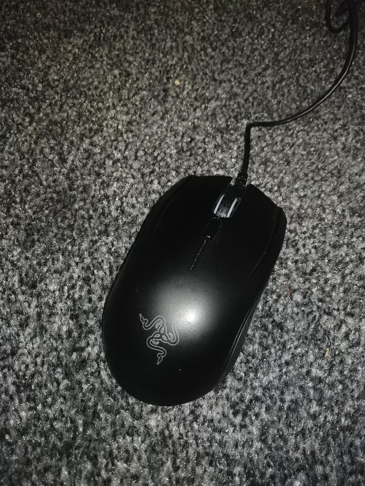 Used mouse Taken care of so looks like new comes with original box and instructions