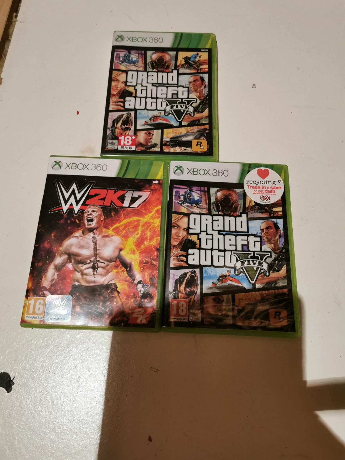 2 x grand theft auto and w2k 17 £5 each or 3 for £10