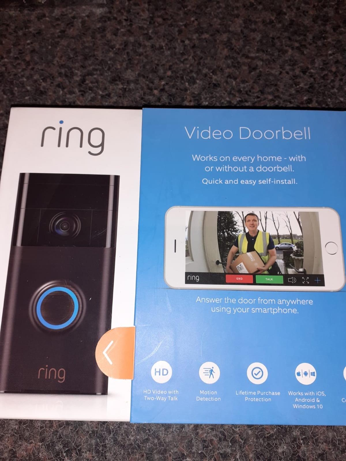 Ring door bell Excellent condition bought for parents who can't get on with it £70 Collection only thanks