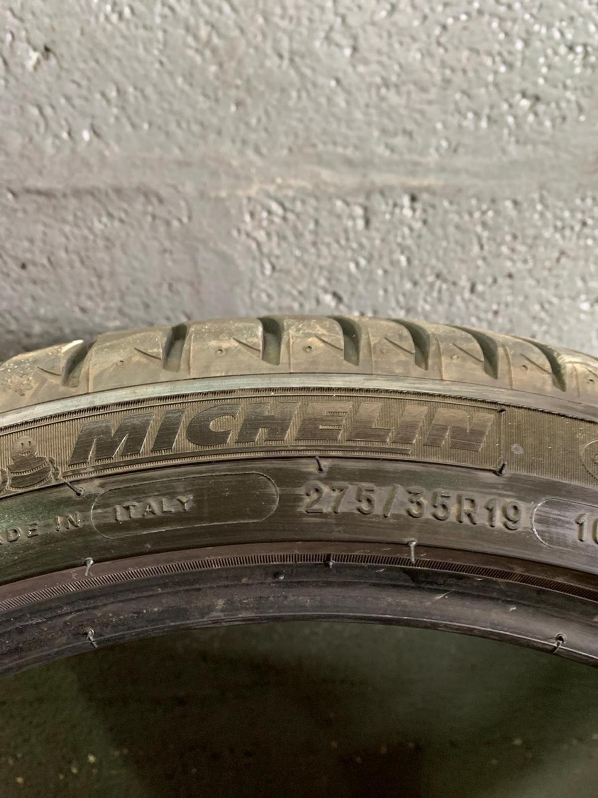 275/35/19  x2 MICHELIN Primacy 3  speed rating:100y inc fitting,balance&reseal 6mm  MORE SIZES AVAILABLE!