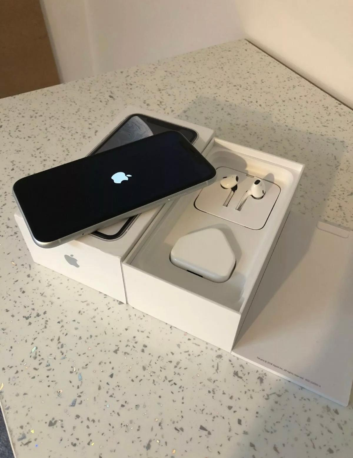 Recently upgraded, therefore selling my Apple iPhone XR, 128GB, Unlocked.  The phone is in excellent condition and has always been kept in a case with screen protector.  See pictures to see the condition of the iPhone.  iPhone comes boxed with earphones and charger.  The iPhone has been factory reset ready for new owner.  Any questions drop me a message.  UK postage only once paymeng received.  Thanks