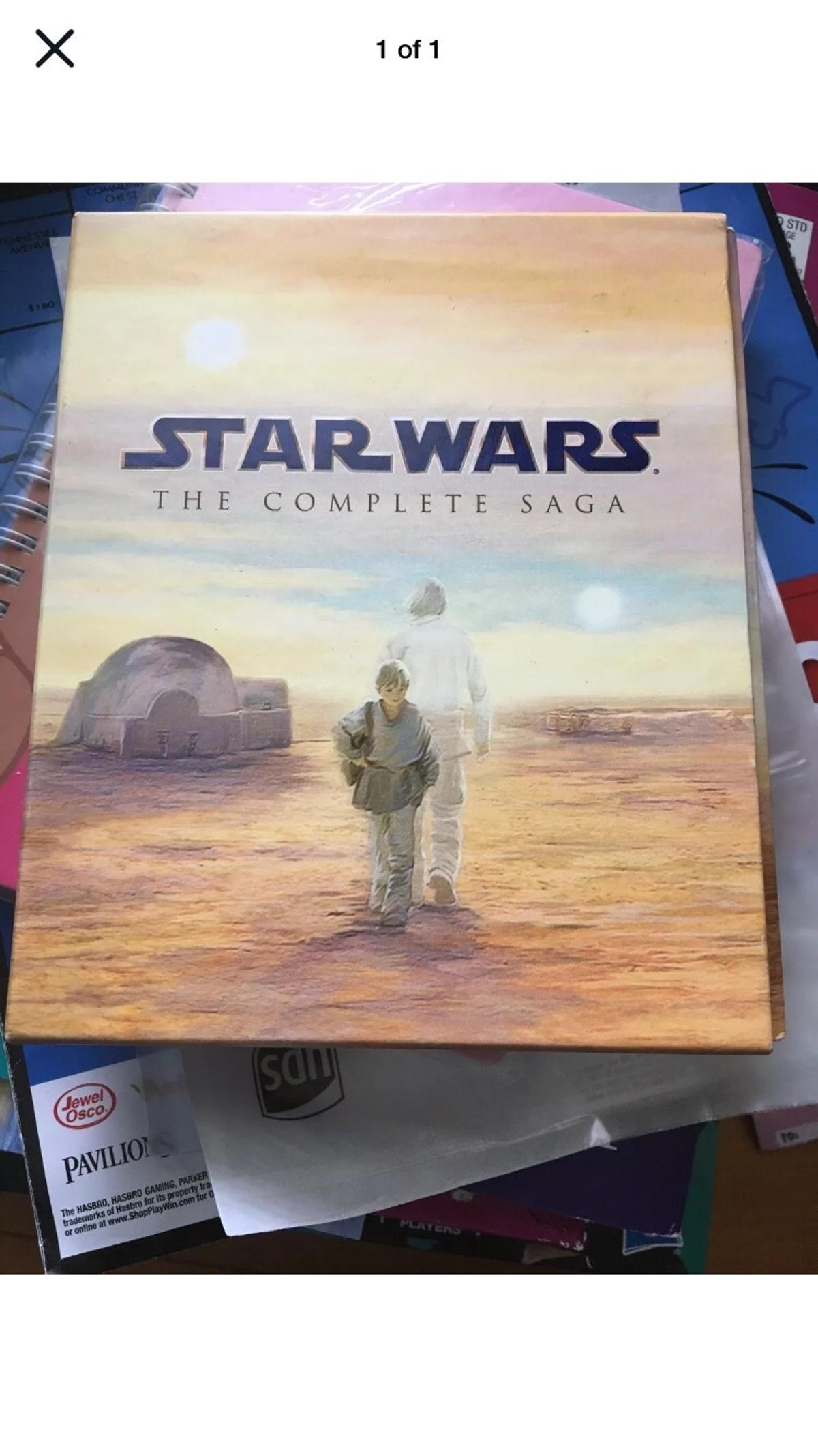 This is The Star Wars Blu-ray Boxset 1-6
