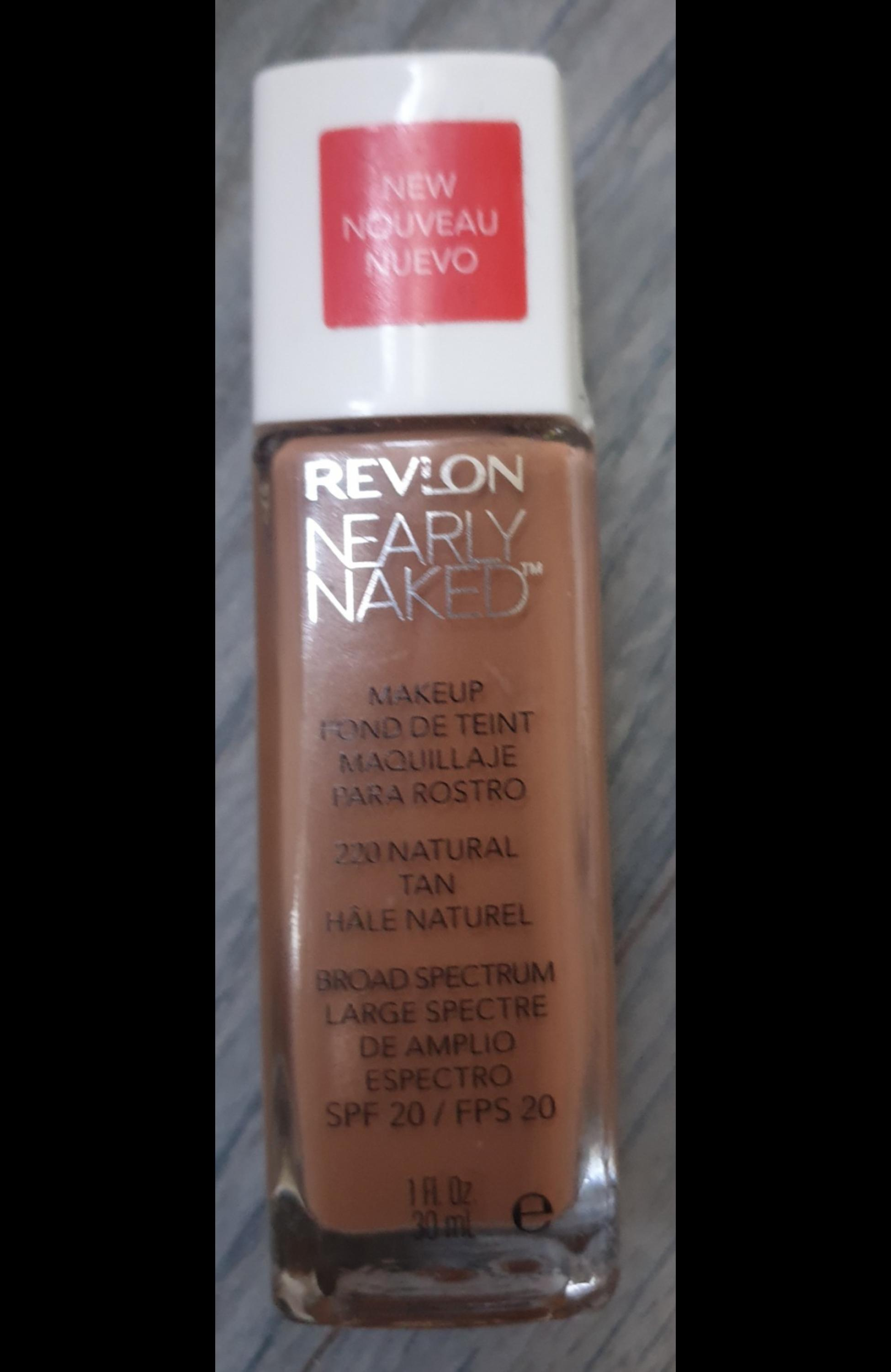New Revlon Nearly Foundation In
