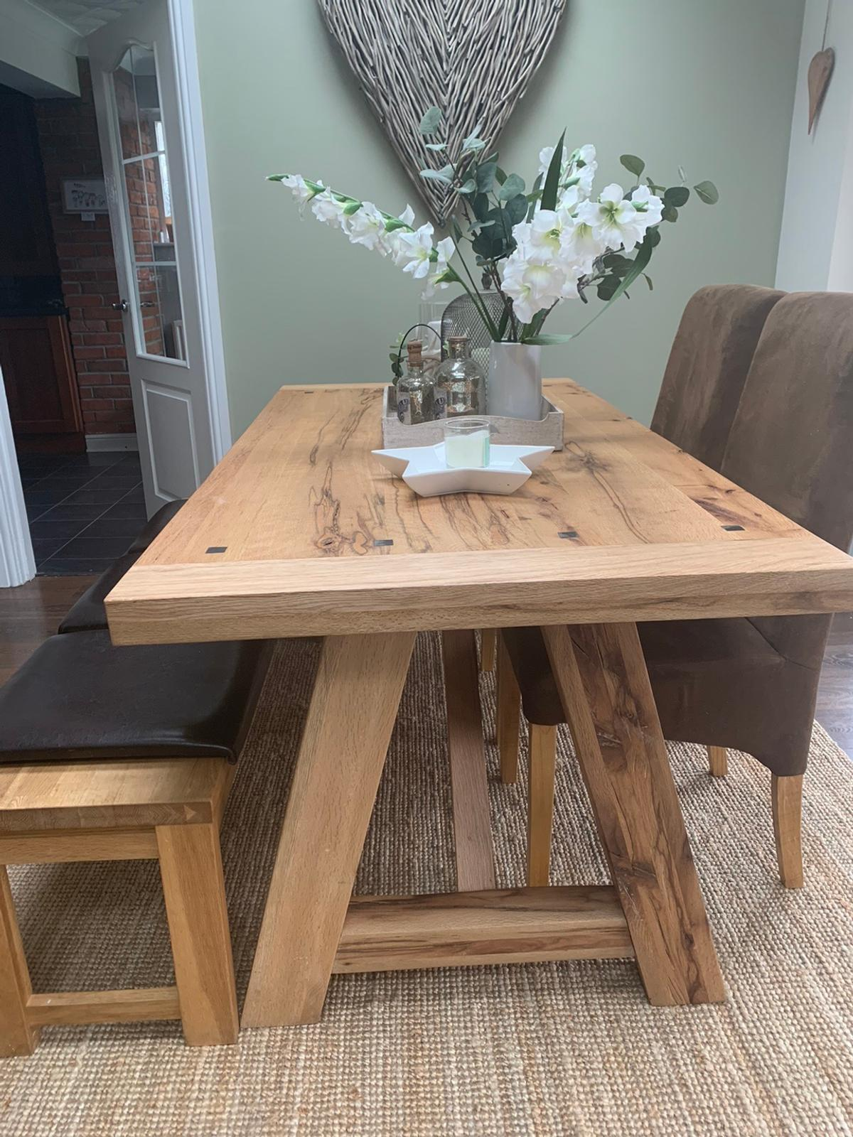Barker stonehouse dining table bench chairs in TS5 ...
