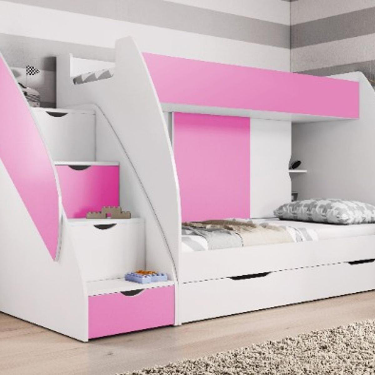 Picture of: Pink Children Kids Bunk Bed Storage Solution In M350bn Failsworth For 395 00 For Sale Shpock