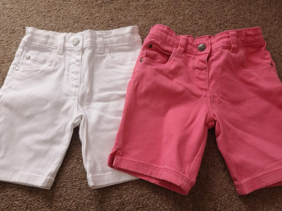 White pair never worn. From Nutmeg,both have adjustable waist.  No contact payment only Collection DY4 7