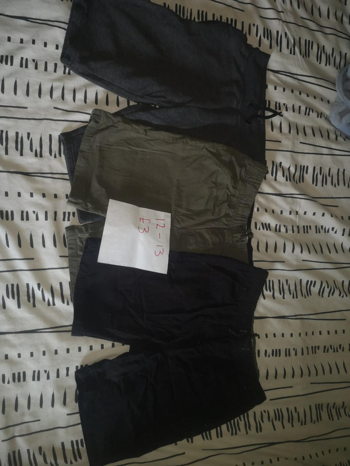 Shorts £3 3 tops £2 School shorts £3  Can post Good used condition Sold as seen