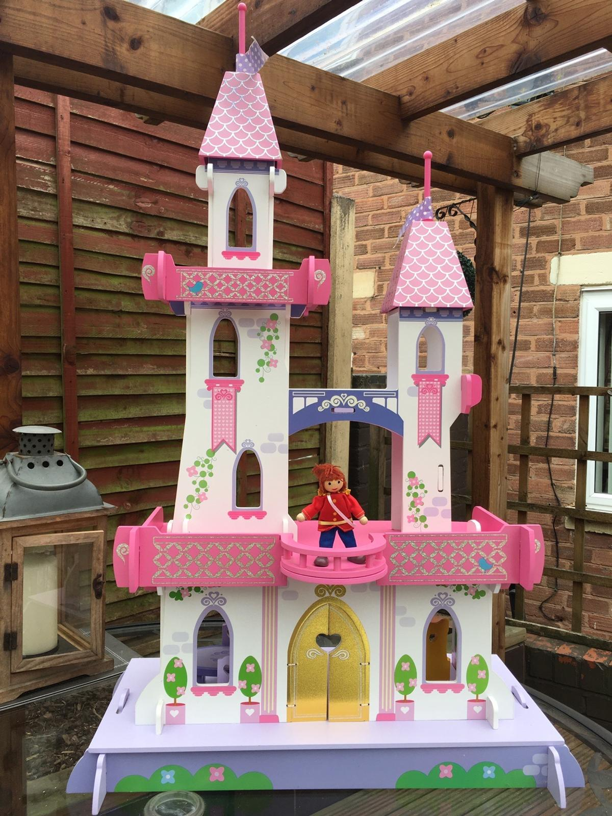 ELC castle with princess, prince characters, etc.