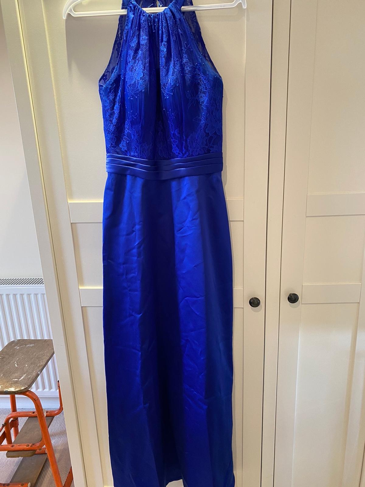 Beautiful royal blue bridesmaids dress  Worn once  Will need dry cleaning  Collection only from Worksop