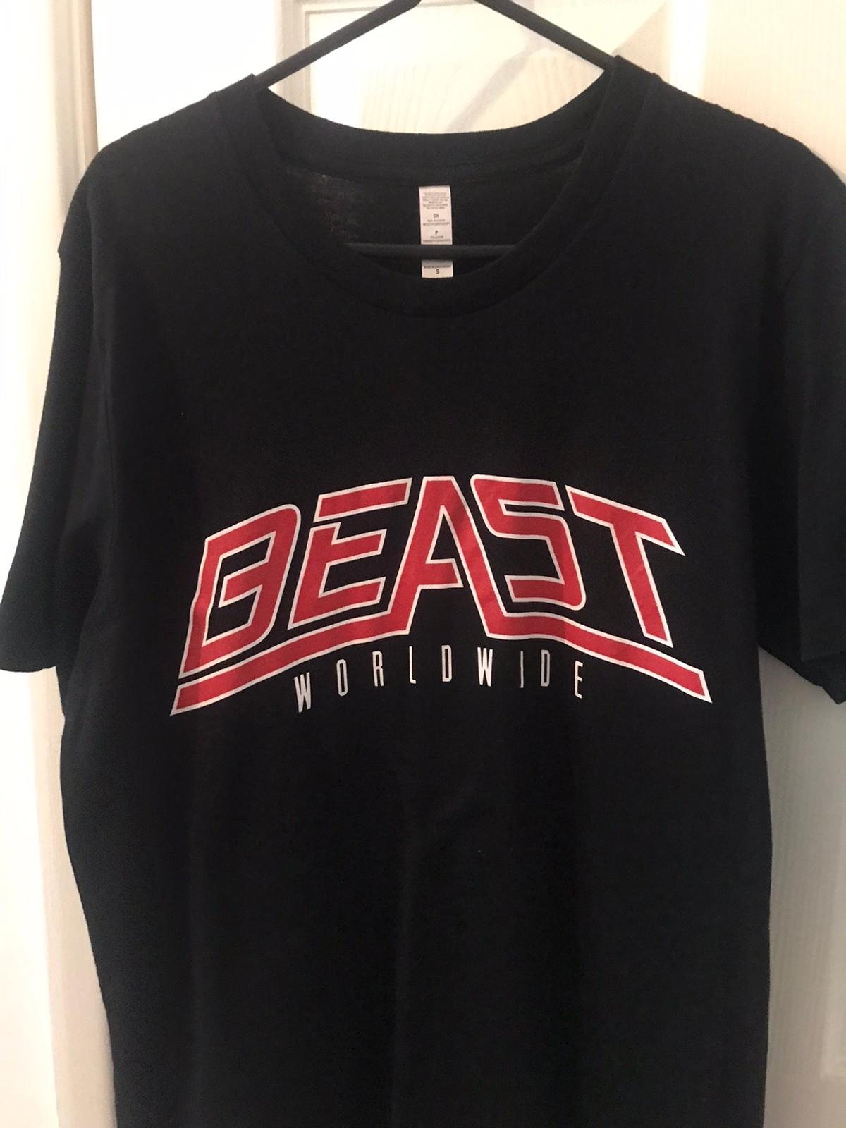 Official KSI Beast Shirt. Hardly ever worn. Size Small/Medium men's.