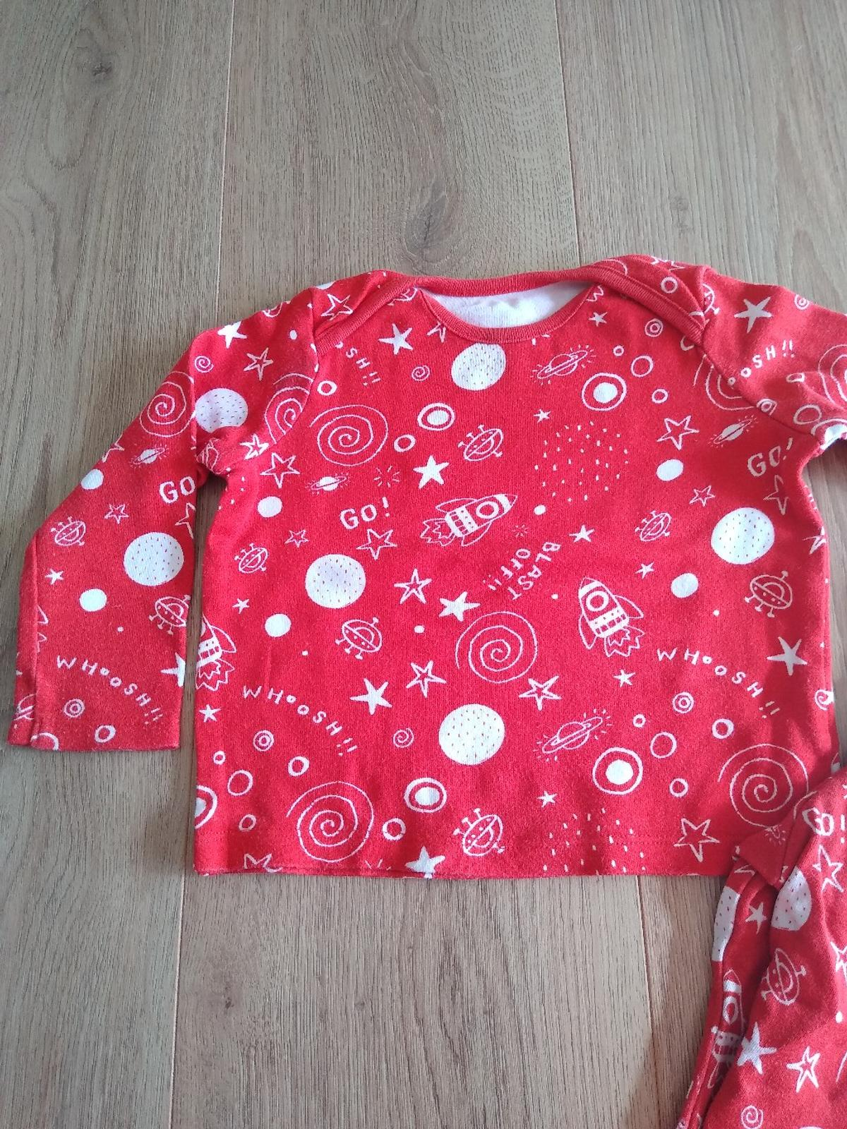 used pyjama in good condition ,had slightly mark next to neck but not really visible - see picture size 12-18 months from F&F collection Bootle or I can deliver if local or for a small fee to the different area postage available please see my other items lots baby clothes