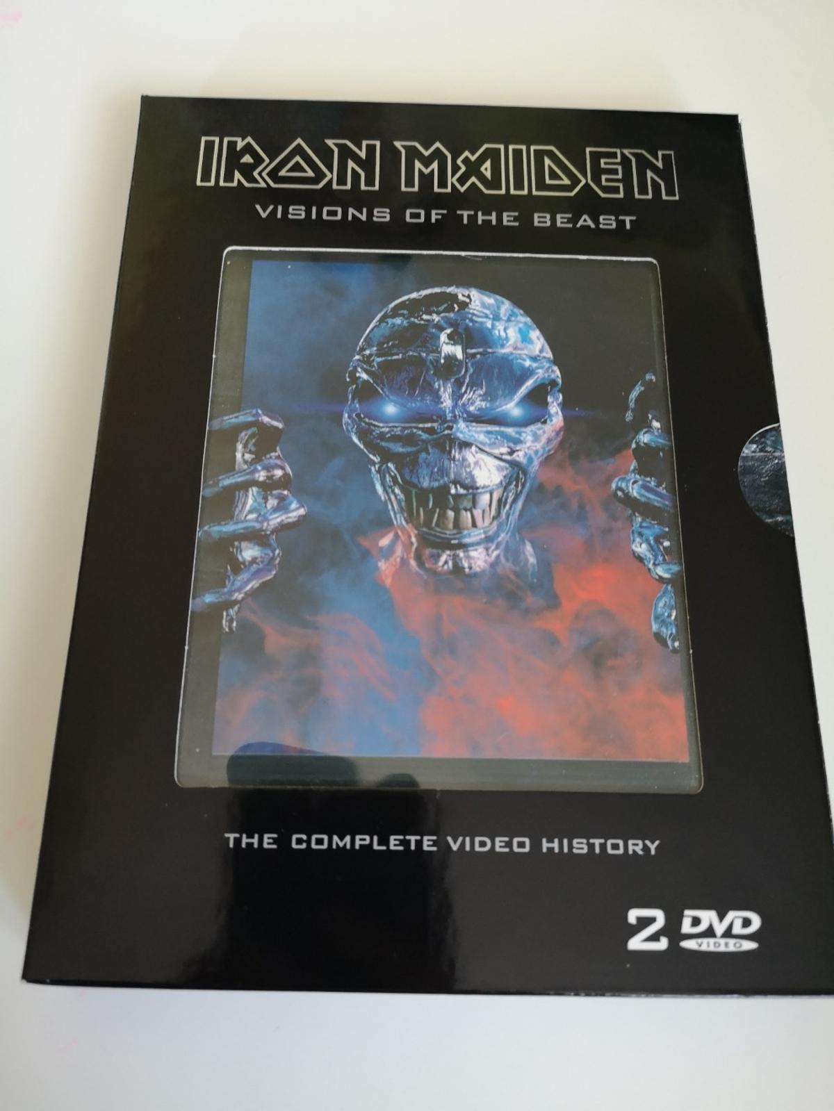 Iron Maiden Vision of the beast The complete Video History 2 DVD Top Zustand